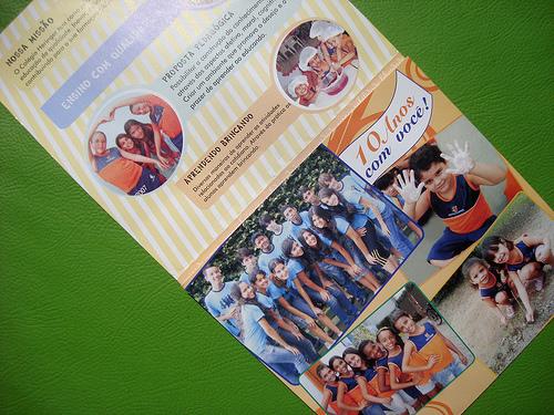 Folder de educação - 2