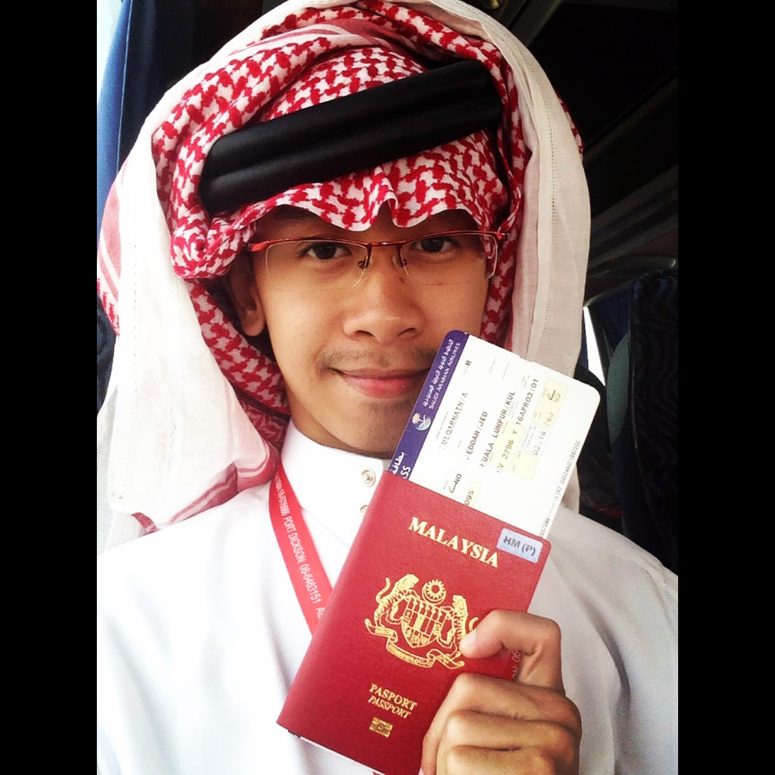 UMRAH HISHAM AL HAJ APRIL MEDINA