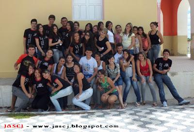 """Fotos do encontro do Grupo de Jovens """"JASCJ"""" para a formação do grupo ''Jovens Unidos Pela Fé"""" em R. Godeiro - RN"""