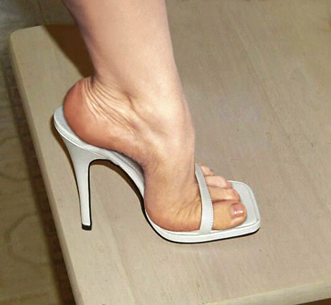 20 per cent of women aged 18-24 owning a pair of six-inch high-heeled shoes, compared to 10 per cent of those aged 25-42.