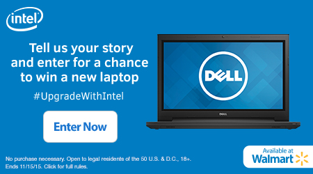 Find out how you can win a new laptop computer and why you should upgrade with Intel!