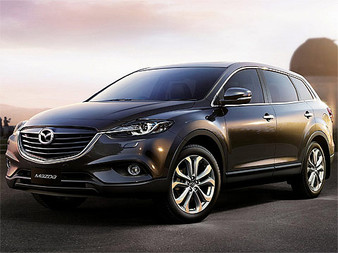 2013 Mazda CX-9 japanese car photos. 480 x 360 pixels