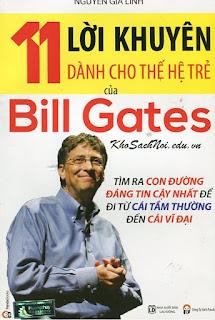 11 Lời Khuyên Dành Cho Thế Hệ Trẻ Của Bill Gates [Mp3]