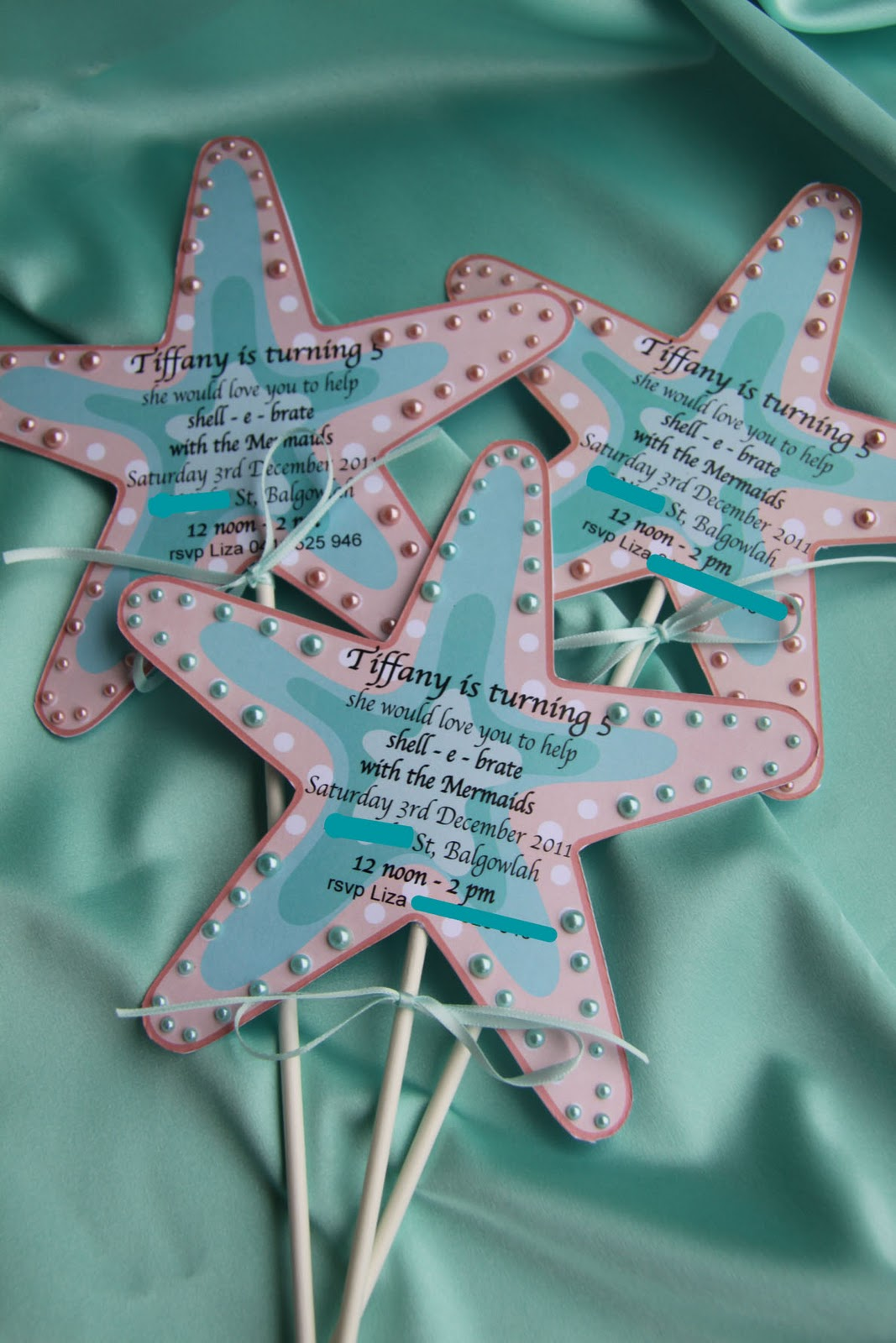 Little Mermaid Handmade Invitations is beautiful invitation ideas