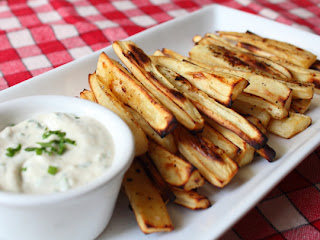 "Oven ""Grilled"" Parsnips – Could These Replace French Fries?"
