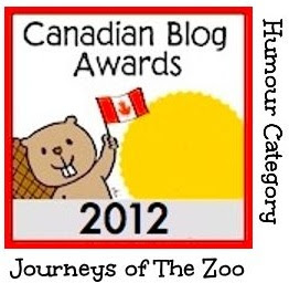 Modified Canadian Blog Award Logo