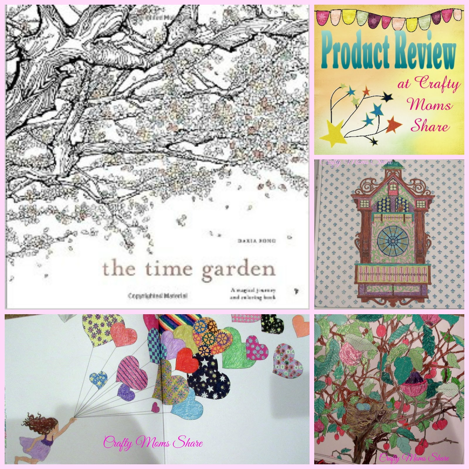 The Time Garden Adult Coloring Book Review Mommy