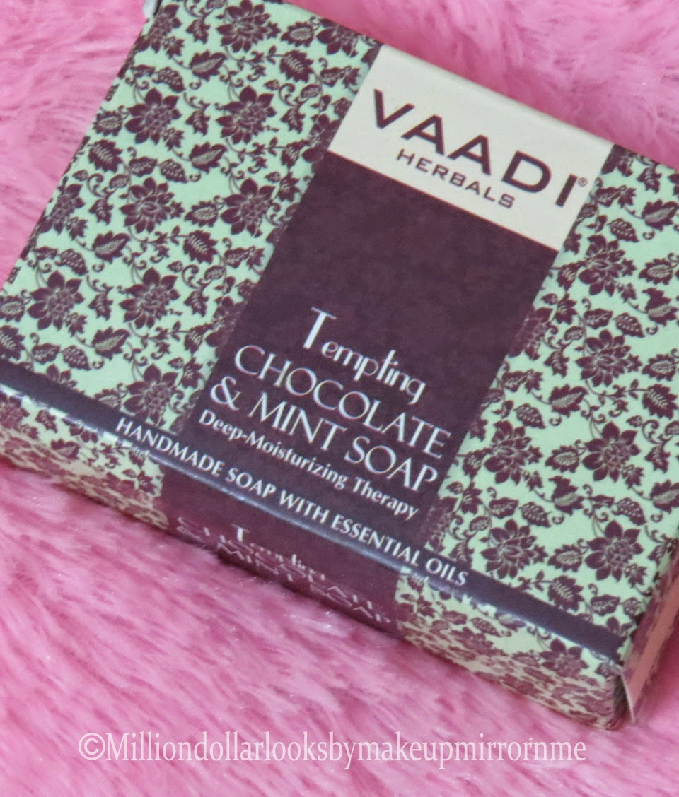 Vaadi herbals handmade soap, Indian beauty blog, Indian makeup blog, Beauty blogger India