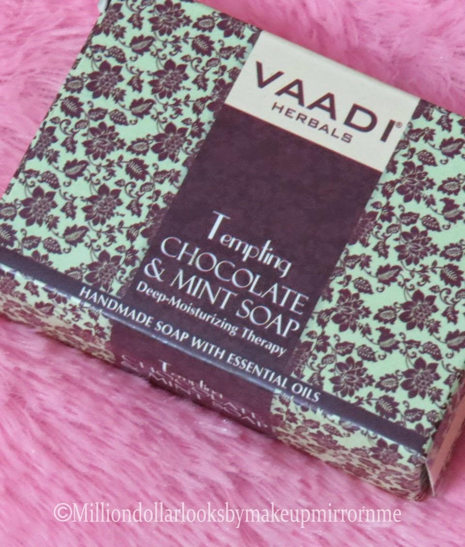 Vaadi herbals handmade soap, Indian beauty blog, Indian makeup blog, Beauty blogger India