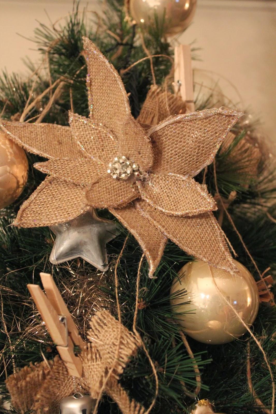 Stella Di Natale In Stoffa.Stella Di Natale Di Stoffa Decoro Trasformo Cucino