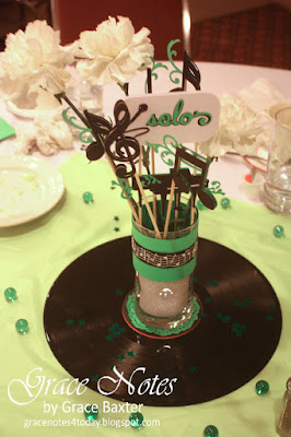 Music Lover Centrepiece by Grace Baxter
