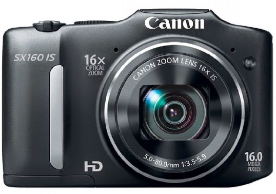 Canon PowerShot SX160 IS - 16MP