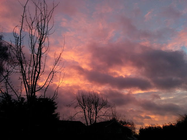 An Amazing Sky Over Milton Keynes