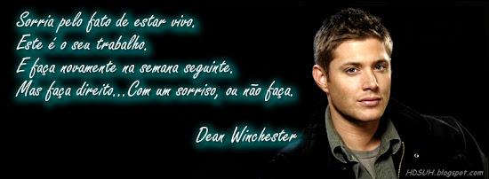 Capa para Facebook com Frases Sobrenatural