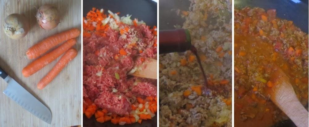Zubereitung Bolognese Sauce