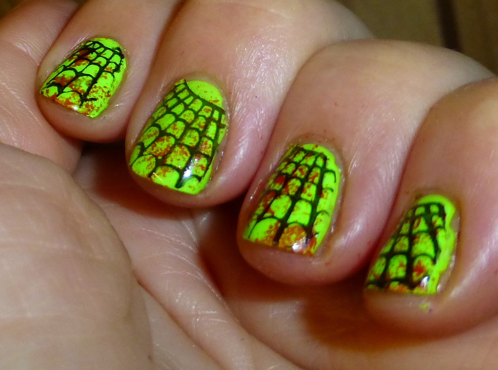 Indieana In Search Of The Holygrail Halloween Nails