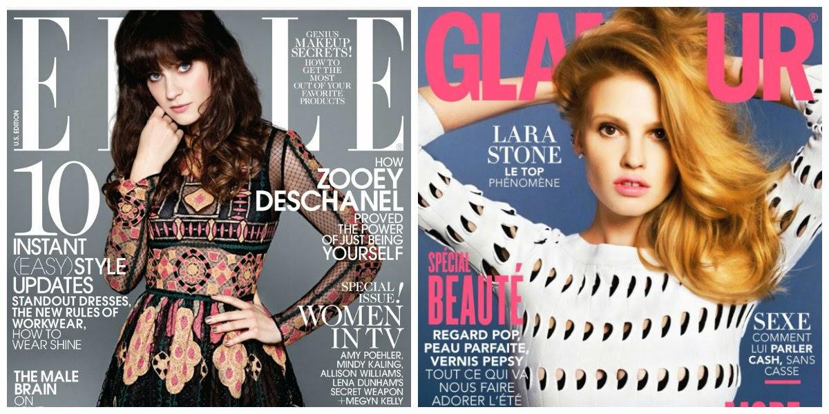 Elle vs Glamour