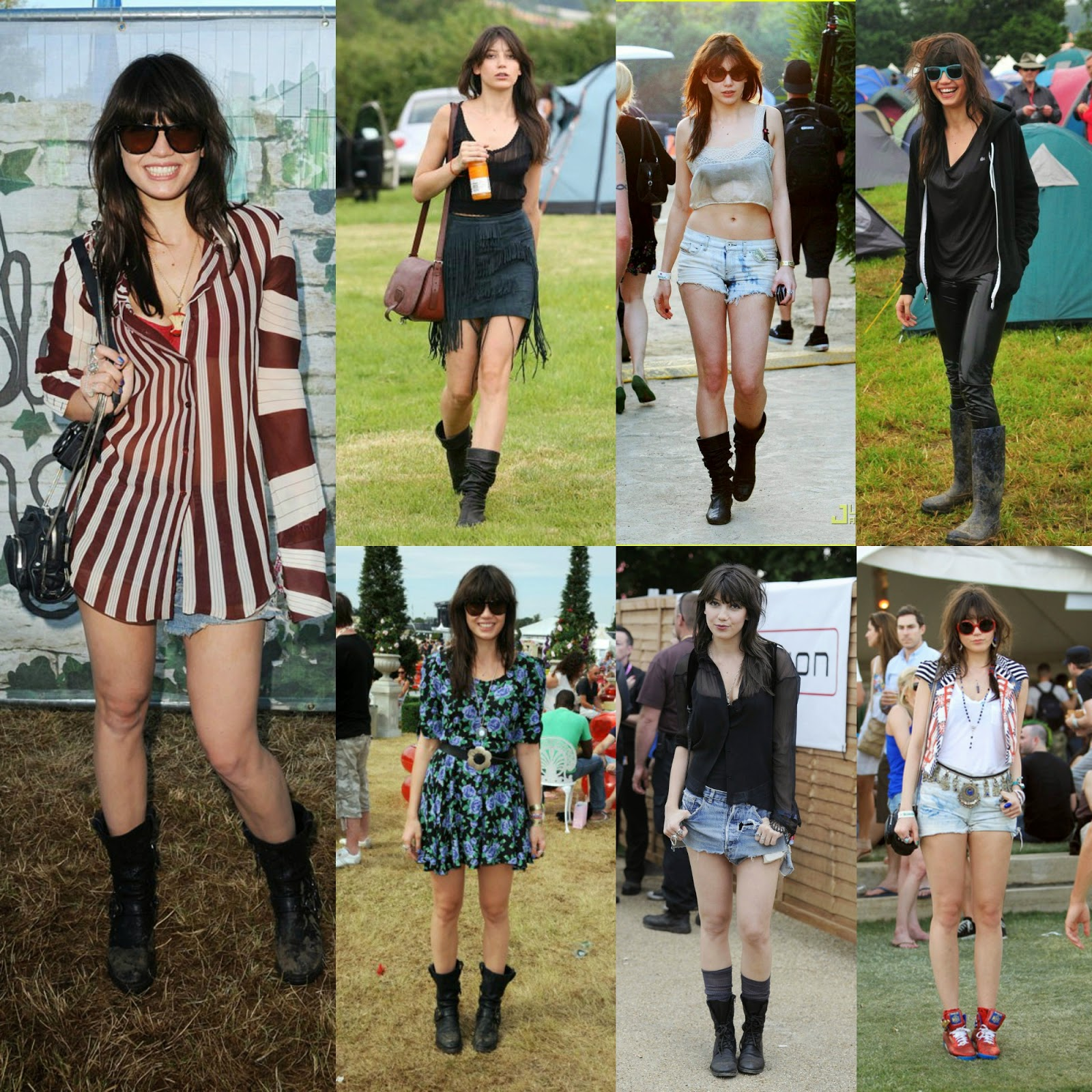 Daisy Lowe Music Festival Fashion