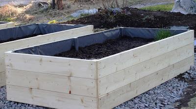 Bygga höga odlingslådor