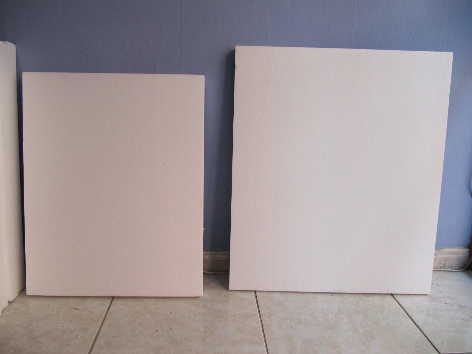 Nuestro blog rosa por fin comenzamos la reforma - Laminas de corcho blanco ...