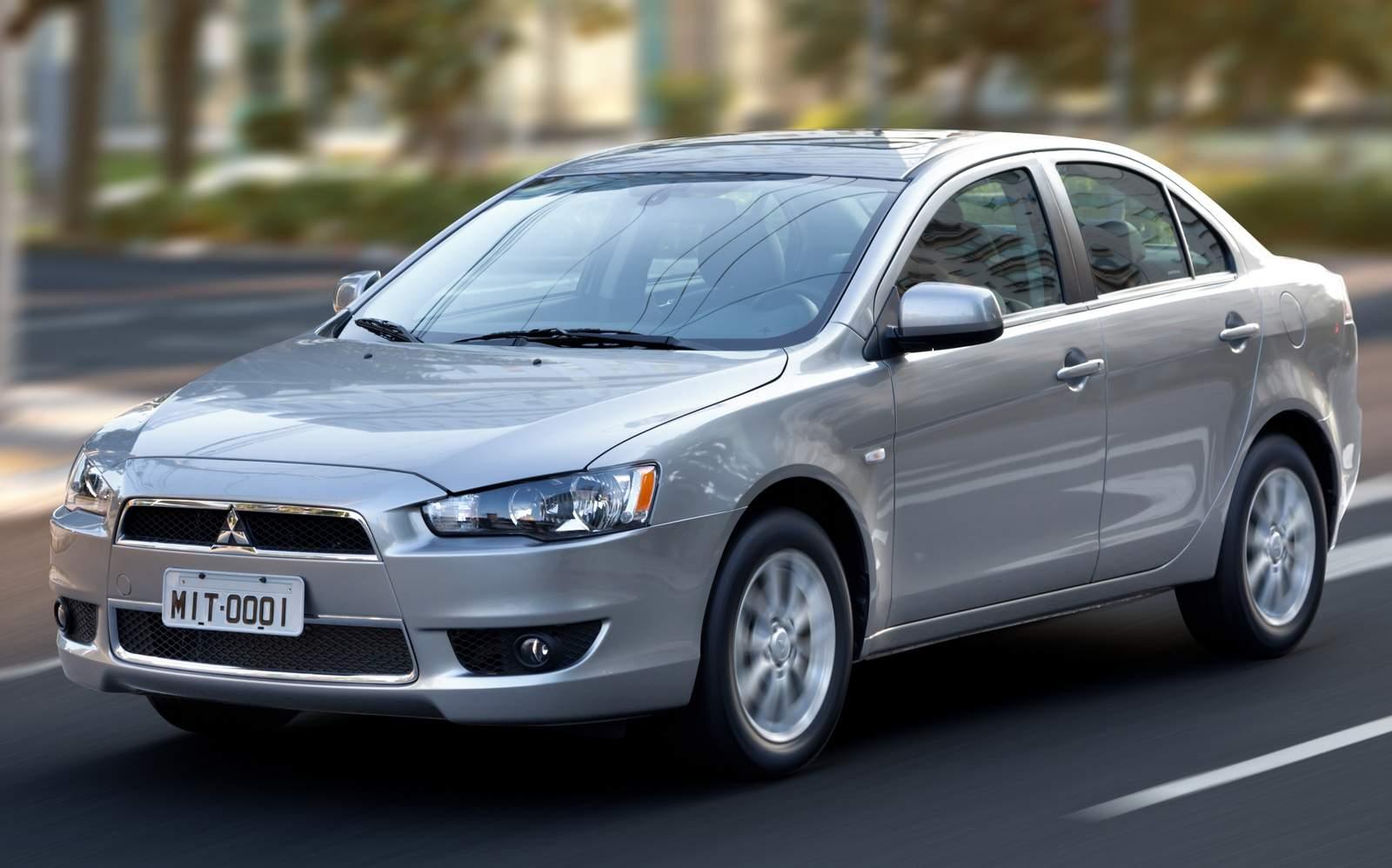 Mitsubishi Lancer - entre os mais desvalorizados