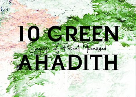 islam environment muhammad hadith quotes