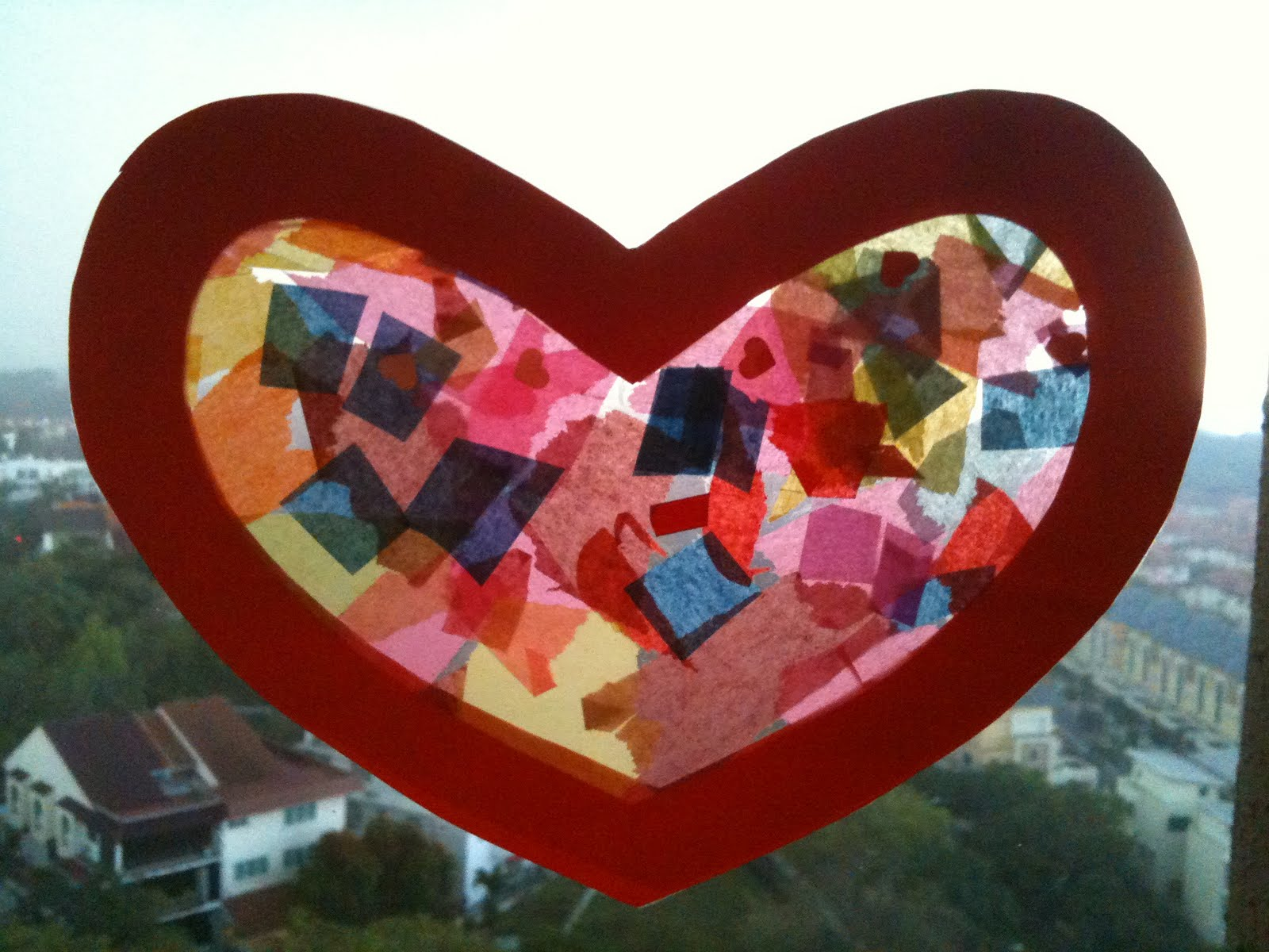 Preschool crafts for kids valentine 39 s day heart sun for Valentine day crafts for kids