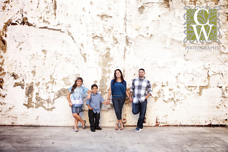 urban family portrait long beach