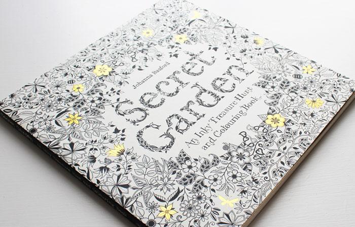 relajate coloreando secret garden colores colorear relax