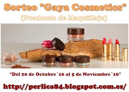 "Sorteo ""Gaya Cosmetics"" (Maquillaje)"