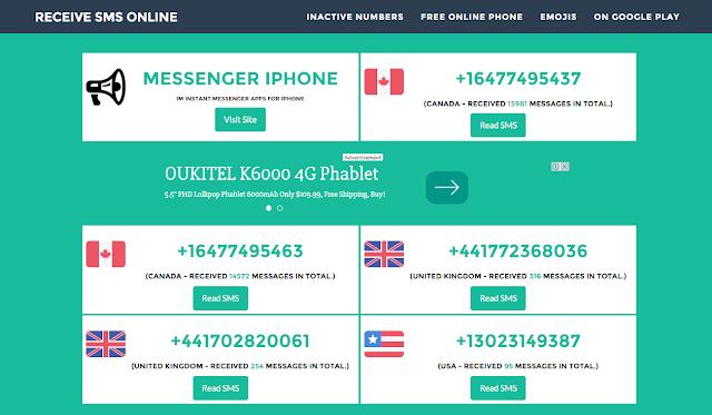 أفضل موقع للحصول على رقم أجنبي للتسجيل به والتوصل بالرسائل عليه