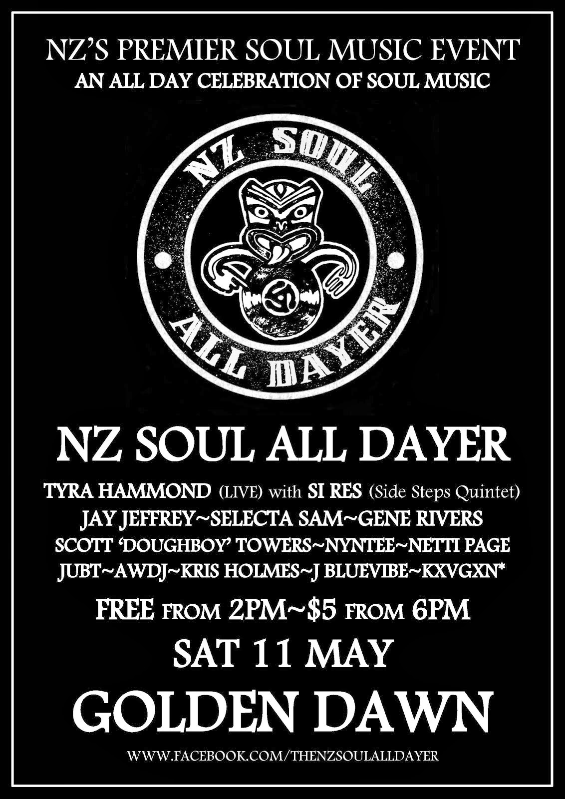 NZ Soul All Dayer #1