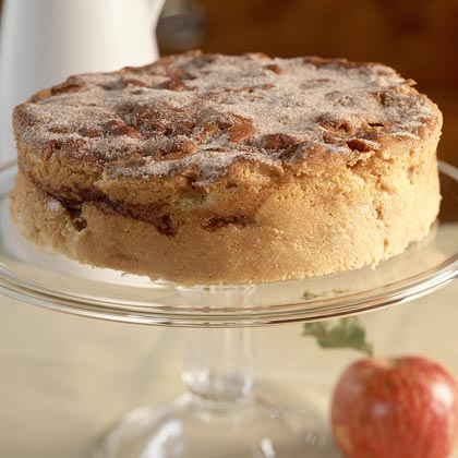 Cinnamon Apple Cake recipe from Cooking Light