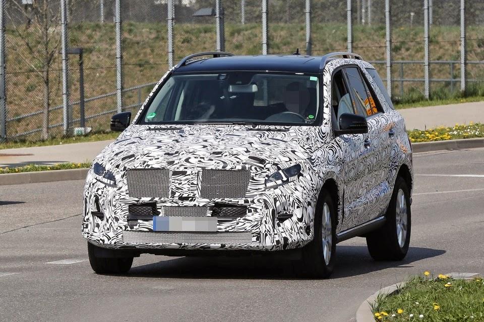2015 New Mercedes-Benz ML-Class facelift