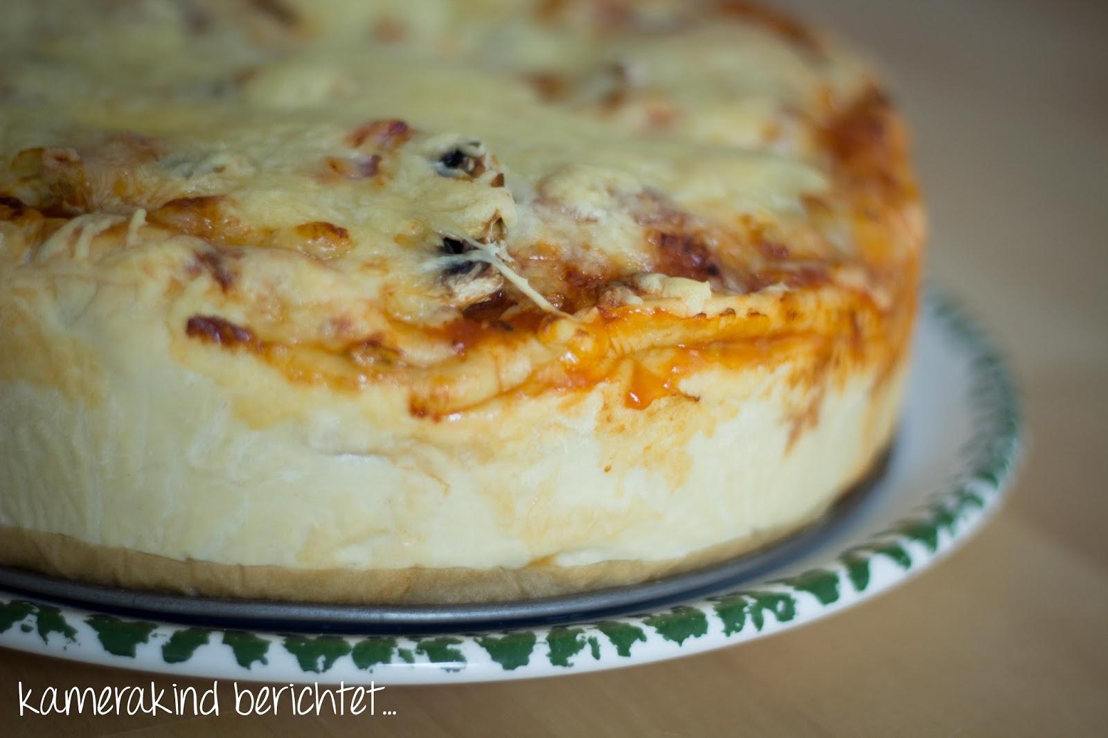 Pizzatorte selbstgemacht