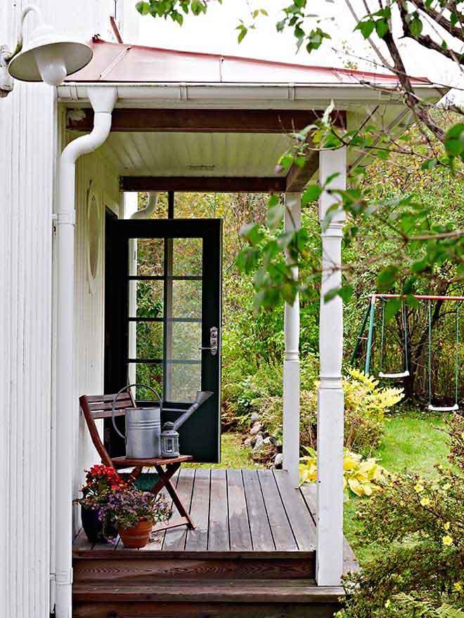 casa de campo diseño interior rustico actual porch entrada rustico