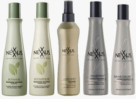 Shampoo for  thinning hair :Nexxus Diametress Luscious Volumizing Shampoo