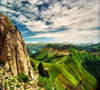 Uma linda paisagem.