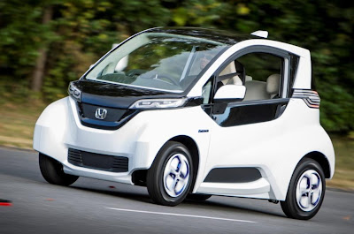 Honda: compact electric vehicle shortly before practice test