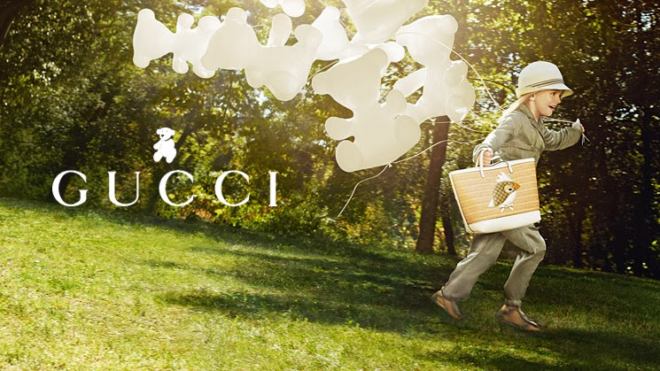 gucci spring summer kids campaign