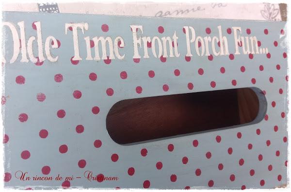 Country Box..... caja de pañuelos