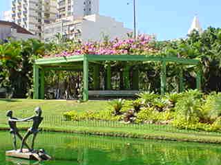 Praça Nossa Senhora da Paz: gazebo.