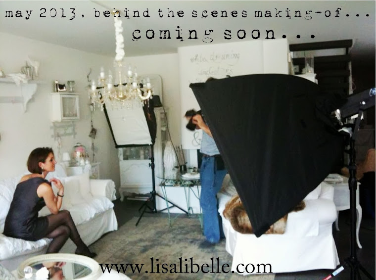 "Video Making-of ""LISA LIBELLE - the lady in white - on a Saturday"" by jfpix"