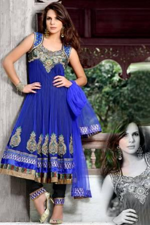 Embroidered-Anarkali-Churidar-Frock