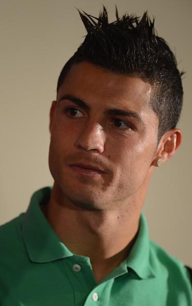 Como Peinarse Como Cristiano Ronaldo - Peinado CR7 Cristiano Ronaldo YouTube