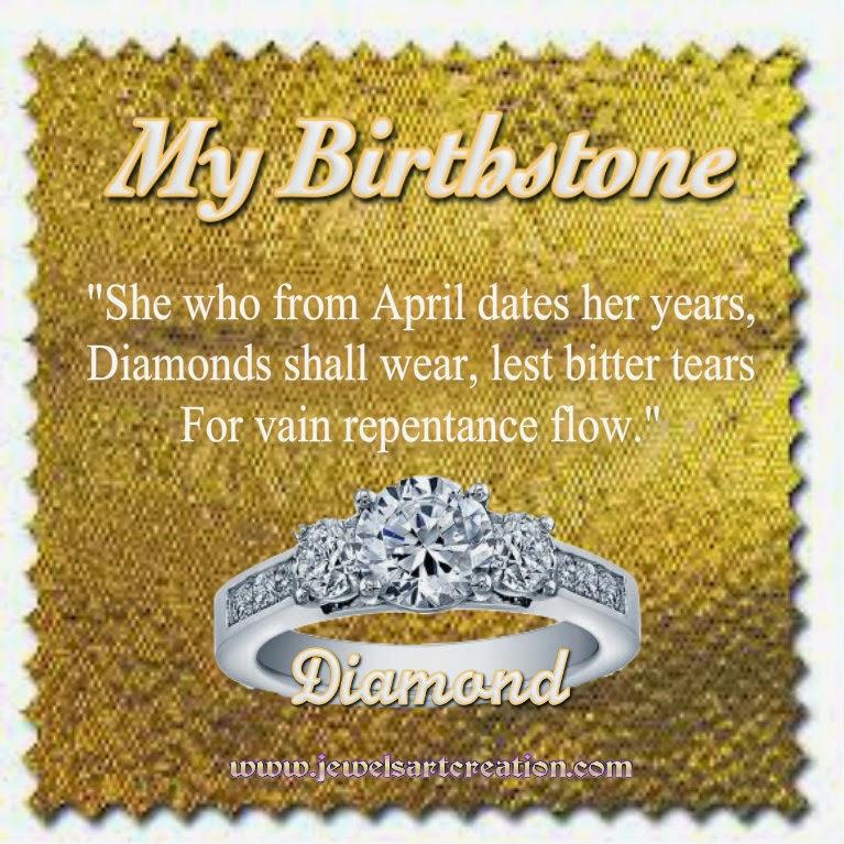 April Birthstone Poem ~ Jewels Art Creation