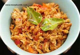 Resep Ayam Suwir Bali Enak Mudah Praktis, cara masak ayam suwir bali, masakan khas bali, olahan ayam yang mudah