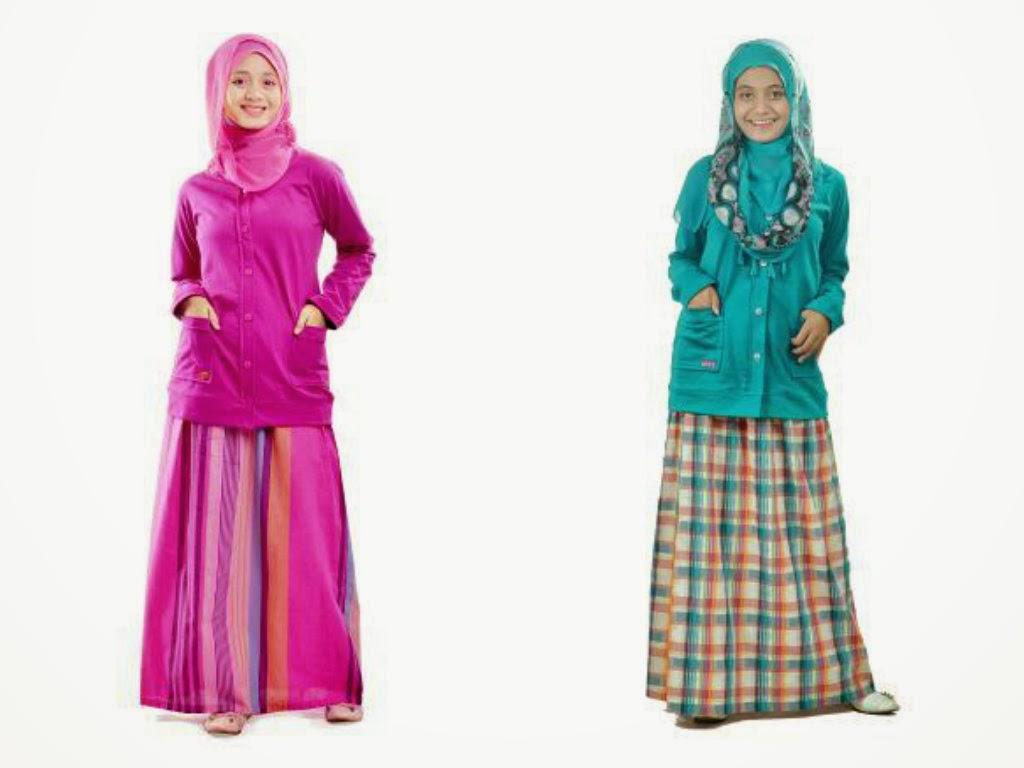 Baju Gamis Muslim Remaja St 67 Memiliki 2 Model Rok