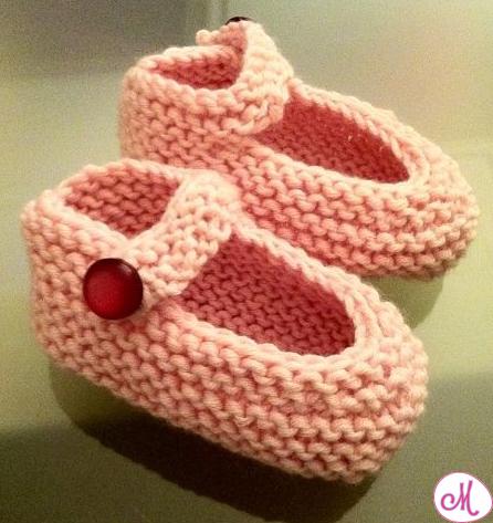 scarpine maglia neonato