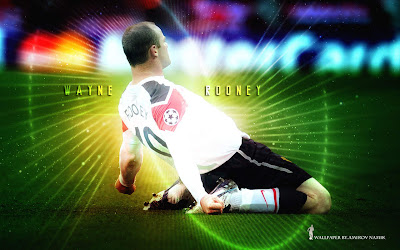 Wayne Rooney Goal Celebration Wallpaper